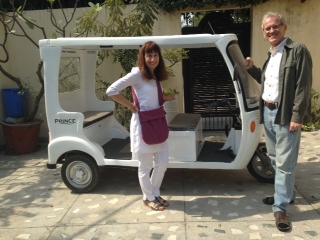 Electric Car for Ananda Ashram